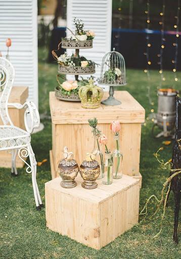 tiệc cưới ngoài trời sân vườn