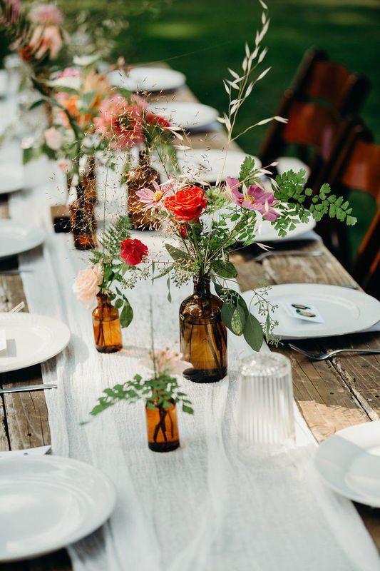 tổ chức tiệc cưới ngoài trời vintage