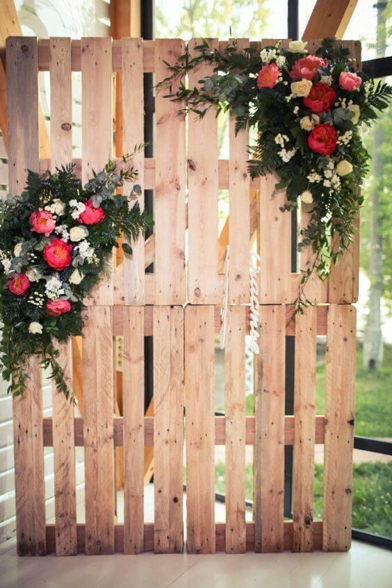 phong cách tiệc cưới ngoài trời rustic