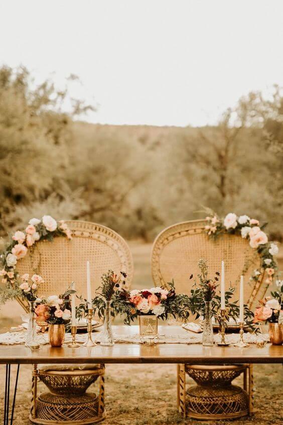 kế hoạch tổ chức tiệc cưới ngoài trời hoàn hảo